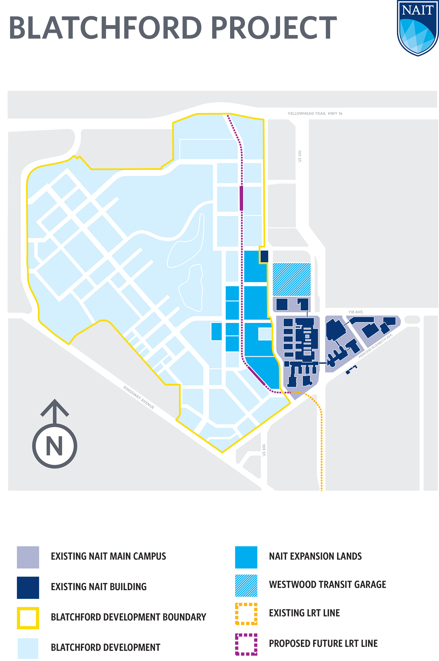 Nait Campus Map NAIT acquires Blatchford land for campus growth and consolidation