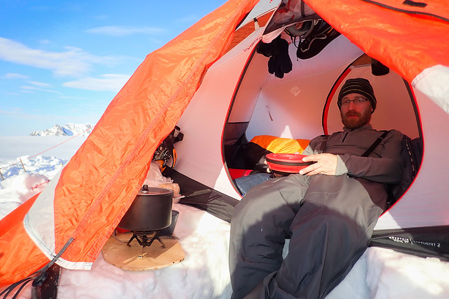 dave critchley on ellesmere island