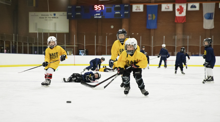 NAIT summer hockey camp