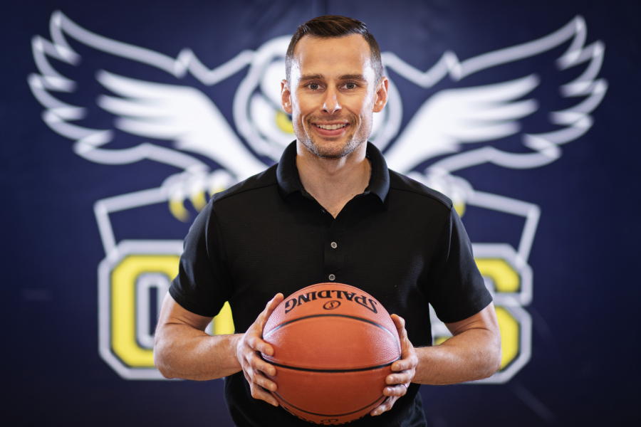 Ooks men's basketball coach Slav Kornik