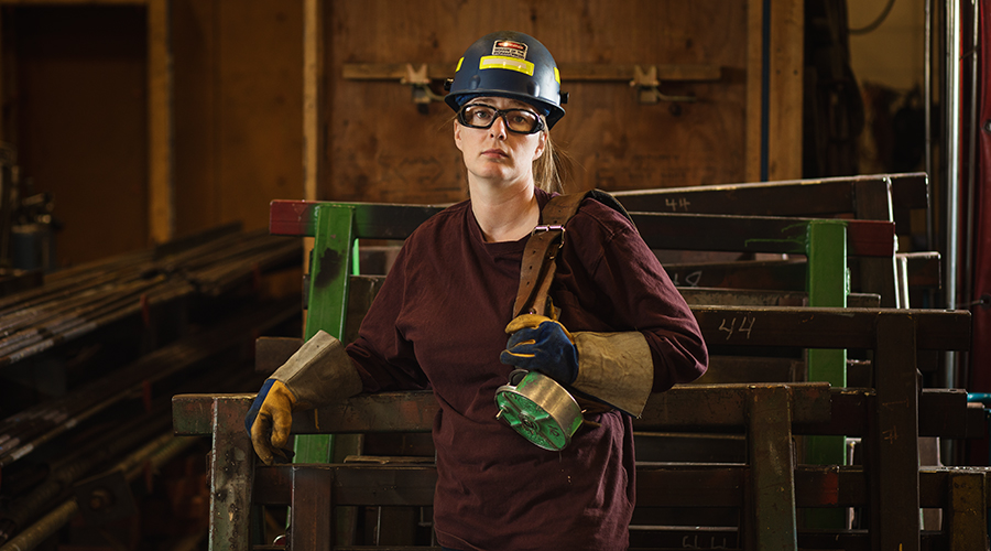 Ironworker chair Nicole Mahoney