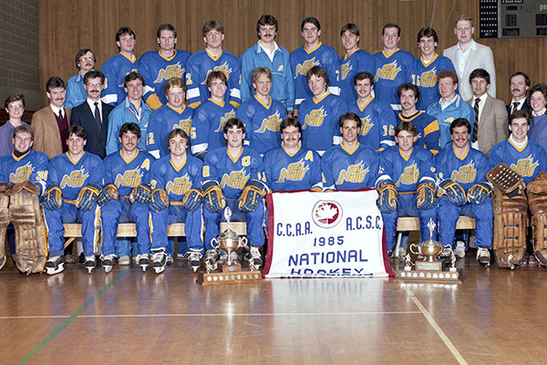 nait ooks 84-85 team perfect season hall of fame