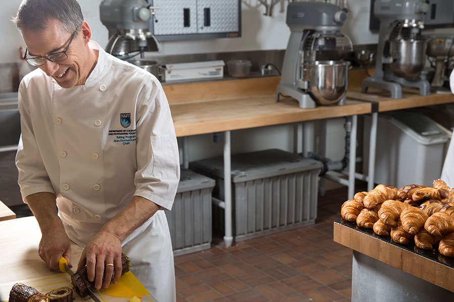 alan dumonceaux nait baking and pastry arts chair and Masters de la Boulangerie 2018 competitor