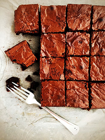 renee kohlman brownie recipe, all the sweet things