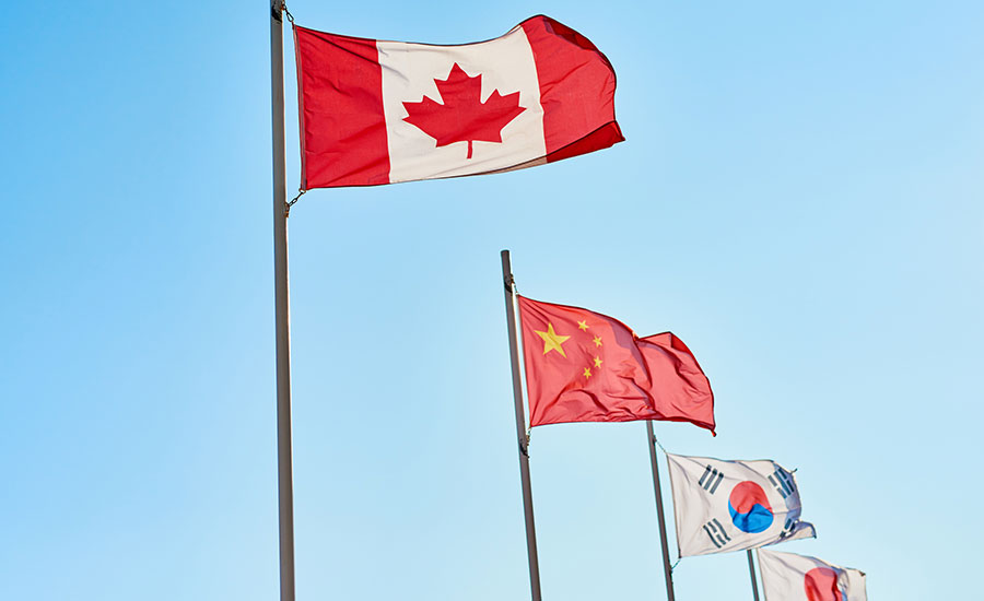 canada asia china south korea japan partnership