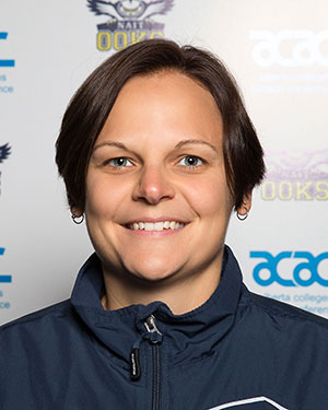 Deanna Martin, head coach of the NAIT Ooks women's hockey team