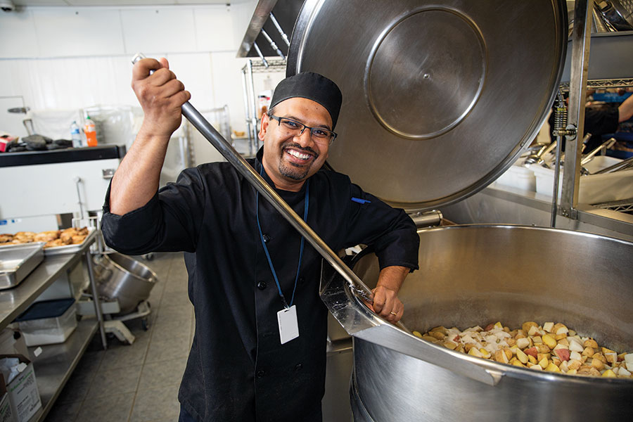 glen pereira, kitchen manager, calgary drop-in and rehab centre