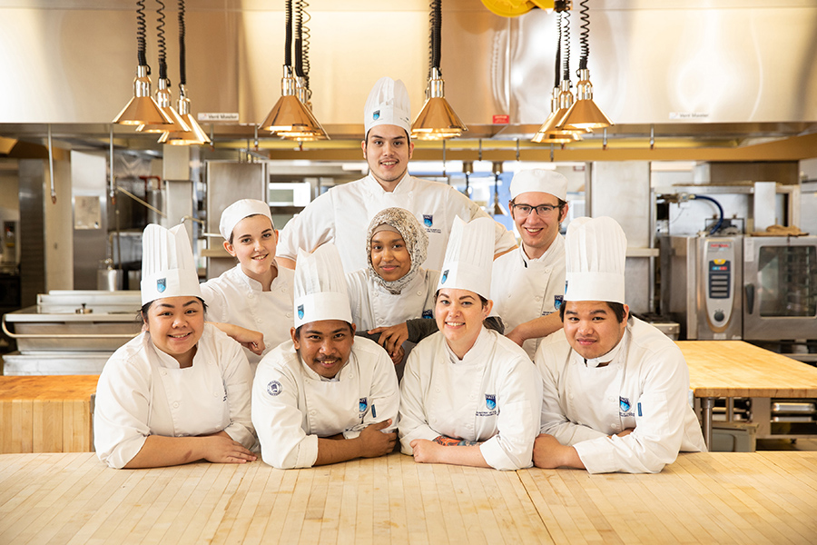 NAIT culinary students