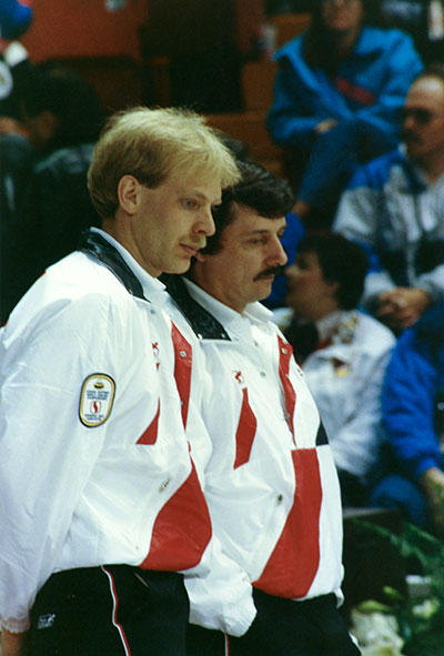 kevin martin and jule owchar curling