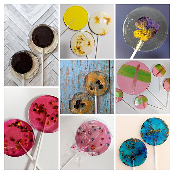 sumptuous lollies lollipops