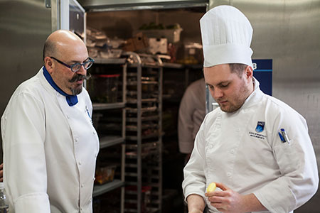 massimo capra NAIT hokanson chef in residence teaching