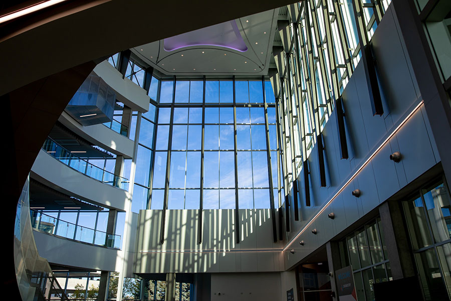 nait productivity and innovation centre atrium