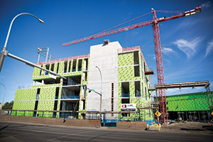 productivity and innovation centre, construction, NAIT, edmonton