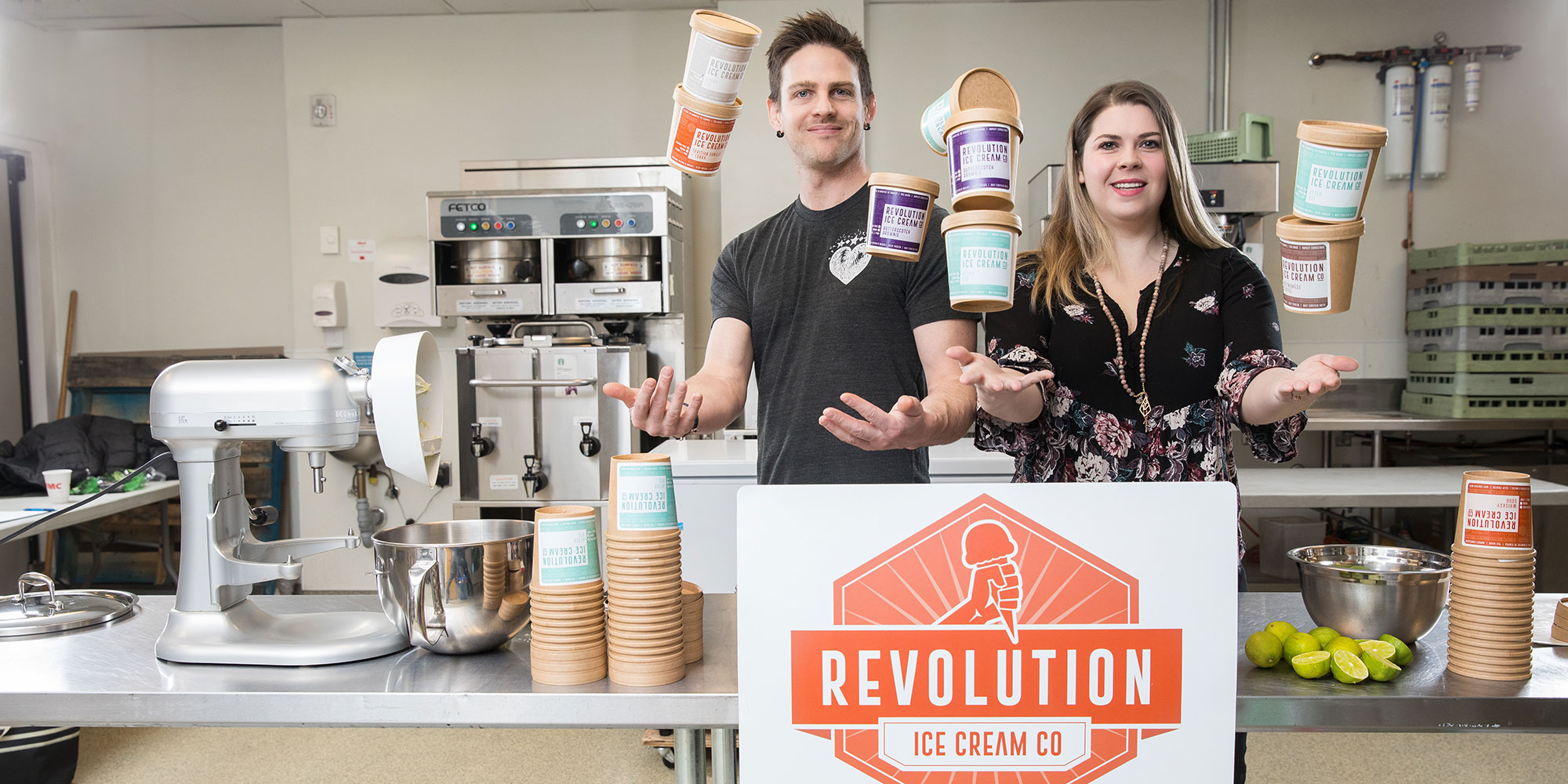 "Revolution Ice Cream aims to ""disrupt"" the local food industry"