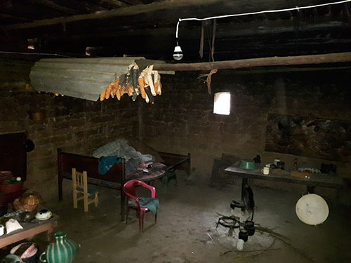 todos santos house interior light bulb solar power nait alternative energy technology