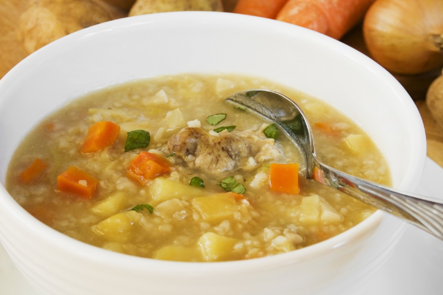 vegetable and barley soup